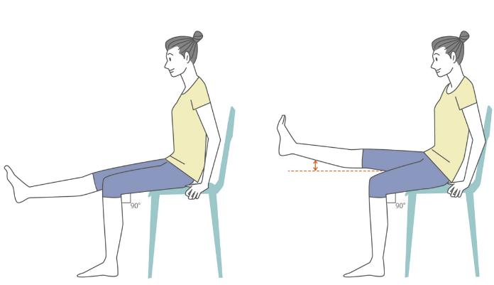膝関節と腸腰筋ストレッチ